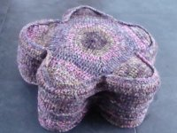 ravelry Onlys Designs Crocheted Basket as Flower